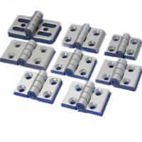 Buy cheap T3-T8 Aluminum Hardware Products Commercial Glass Door Hinges Heavy Duty from wholesalers