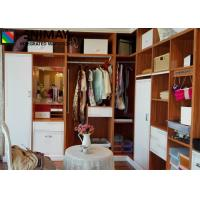 Buy cheap Classic Luxury Open Wooden House Furniture with storage box , Armoire from wholesalers