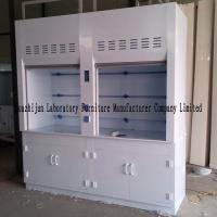 Buy cheap Laboratory PP Fume Hood Cabinet , 2350mm Height Chemical Exhaust Hood from wholesalers