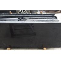 Buy cheap High Polished China Black Galaxy Floor Tiles , Wholesale Chinese Black Granite Tiles from wholesalers