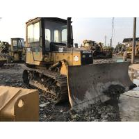 Enclosed Cabin Used Small Bulldozers CAT D3C XL 6 Way Blade Powershift Transmission
