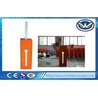 Buy cheap Highway Parking Barrier Gate , LED Flashing Signal Light car park gates from wholesalers