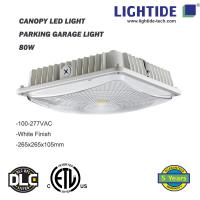 Buy cheap IP65 rating Canopy LED Lights 50W, 100-277vac, ETL/CETL listed, 5 yrs warranty from wholesalers