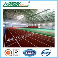 Buy cheap Environmental - Friendly Jogging Track Material , Spray Coating Surface Athletics Track from wholesalers