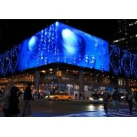 Buy cheap IP65 16 Bit High Transparent Glass LED Display For Media Facade / Show / Exhibition from wholesalers