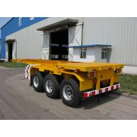 Buy cheap 3 axle 40ft Skeleton container Semi Trailer | TITAN VEHICLE from wholesalers