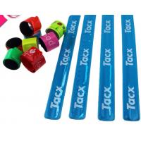Buy cheap New customed print logo promotional pvc reflective bang crack clap bracelet gifts outdoor product