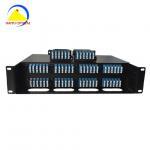 Buy cheap 24F 2U 19 192 Port Duplex LC Mtp Mpo Fiber Patch Panel from wholesalers