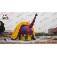 Buy cheap Fantasy Dragon Huge Pool Water Slide Inflatable Fire Retardant from wholesalers
