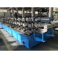 Buy cheap Top Hat Automatic Roll Forming Machine 30kw High Speed 50m / min from wholesalers