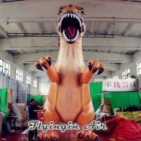 Buy cheap Customized Inflatable Dinosaurs Model, Tyrannosaurus Rex for Sale from Wholesalers