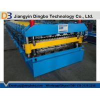 Buy cheap Economical Roof Panel Roll Forming Machine With PLC Control System For Wall And Roof Construction from wholesalers