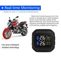 Buy cheap Global use Motorcycle Tire Pressure Monitoring System TPMS Sensors with External Sensor from wholesalers