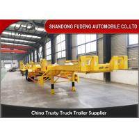 Buy cheap FUDENG Bomb Cart Port Terminal Container Trailer , 45ft terminal chassis trailer from wholesalers