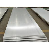 Buy cheap 2205 Stainless Steel Plate Hot Rolled 1500mm Width ASTM Standard Pickled Annealed from wholesalers
