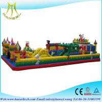 Buy cheap Hansel Kids inflatable giant indoor playground equipment from wholesalers