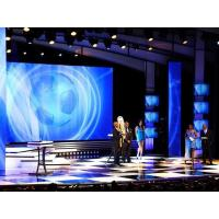 Buy cheap Flat Wall Mounted P4 Indoor Led Screens / Display Hire For Stage from wholesalers
