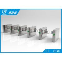 Buy cheap Museum Swing Gate Turnstile Auto Open / Closing Anti - Reverse Passing For Tourist from wholesalers