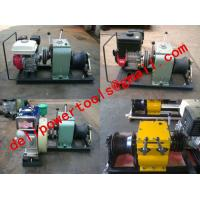 Buy cheap cable puller,Cable Drum Winch,Cable pulling winch, Cable bollard winch from wholesalers
