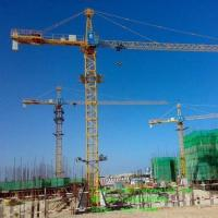 Buy cheap Hongda Tielishi Different Types of Hammerhead Tower Cranes QTZ  Series from wholesalers
