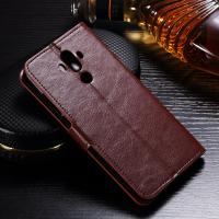 Buy cheap Anti - Dirt Huawei Leather Case For Huawei Mate 9 Magnetic Slim Design from wholesalers