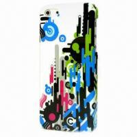 Buy cheap Plastic Case for iPhone 5, IMD Technology Colors, Various Designs are Available from wholesalers