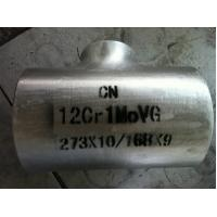 Buy cheap 12Cr1MoVG OD 273 * 168  Alloy steel pressure vessel tee tube fittings from wholesalers