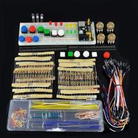 Buy cheap DIY Starter Kit for Arduino 03 Electronics Fans Learning Parts Component Package with Breadboard Jumper Wires from wholesalers