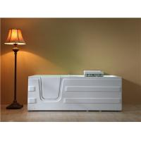 Buy cheap Adjustable Lift Seat Walk In Bath And Shower With Underwater Lights CUPC Certified from wholesalers