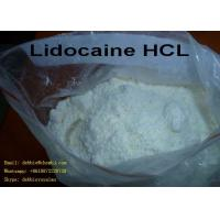 Buy cheap Lidocaine hcl CAS: 73-78-9 White Powder for Pain Reliving Local Anaesthesia Drugs from wholesalers