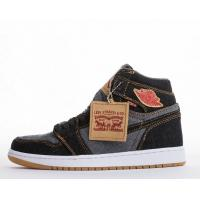 Buy cheap Wholesale Levi's x Air Jordan 1 Retro NRG Denim Basketball Shoes & Sneakers for Sale from wholesalers
