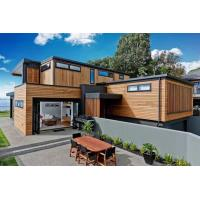 China Quick Installation Prefab Villa 0.75mm / 0.95mm / 1.15mm Steel Frame With Zinc Coating on sale