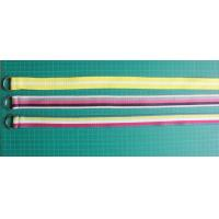 Buy cheap Yellow Blue Red Cloth Belts For Women ,  Webbing Leisure Canvas Belts from wholesalers