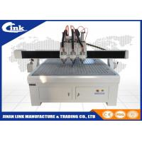 Buy cheap TBI ball screw Fuling inverter CNC Router Machine with vacuum table from Wholesalers