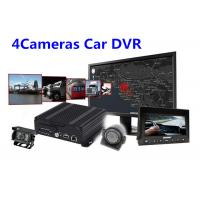 Buy cheap IOS Android Real Time Monitoring 4 Camera Car SD Card Digital Video Recorder from wholesalers
