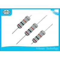 Buy cheap High Reliability Metal Oxide Resistor , Gray Small Size 470 Ohm 1 Watt Resistor from wholesalers