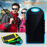 Buy cheap 10000mAh waterproof solar charger for samsung S5 from wholesalers