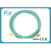 Buy cheap 9/125μM Multimode Fiber Patch Cable , LSZH Jumper Fiber Optic Patch Cables from wholesalers
