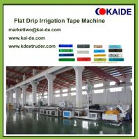 Buy cheap 180m/min Drip Irrigation Pipe Making Machine/China drip irrigation tube extrusion line from wholesalers
