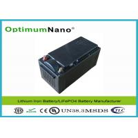 China LiFePo4 24V 45Ah Lithium Deep Cycle Marine Battery for Sailboats Power Supply on sale