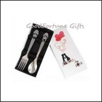 Buy cheap Stainless steel Wedding gift set spoon and fork souvenir gift from wholesalers
