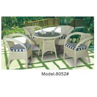 Buy cheap 4 wicker rattan armchairs -8052 from wholesalers
