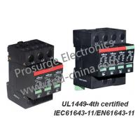 Buy cheap T2/Class C SPD/ lightning /Surge Arrester for AC power distribution system, UL1449-4th and IEC61643-11 certified from wholesalers