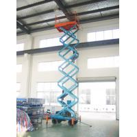 Buy cheap Motorized scissor lift with loading capacity 500Kg and 9M Lifting Height and Extension platform from wholesalers
