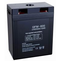 Buy cheap 600ah 2v GFM600 storage power supply, 12v Sealed Lead Acid Batteries for security systems from wholesalers