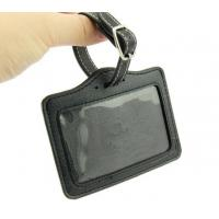 Buy cheap Personalised Luggage Bag Tags PU Leather Made For Personal / Business Travel from wholesalers