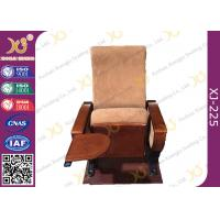Buy cheap Auditorium Conference Hall Chairs With Durable Plywood Writing Table / Large Iron Leg from wholesalers