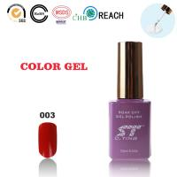 Buy cheap Red color of uv gel polish for nails from wholesalers