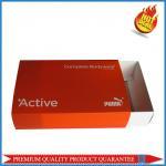 Buy cheap Garment Package Custom Print Color Box Folding Carton PP Sleeve from wholesalers