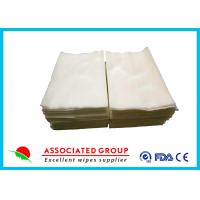 Buy cheap Multi - Use Medline Dry Wipes , Pure Cotton / Viscose Personal Patient Cleansing Wipes from wholesalers